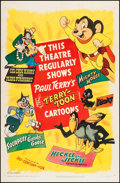 "Movie Posters:Animation, Terry-Toons Stock (20th Century Fox, 1944). One Sheet (27"" X 41"").Animation.. ..."