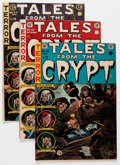 Golden Age (1938-1955):Horror, Tales From the Crypt #42-44 and 46 Group (EC, 1954-55) Condition:Average FN-.... (Total: 4 Comic Books)