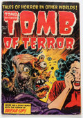 Golden Age (1938-1955):Horror, Tomb of Terror #15 (Harvey, 1954) Condition: GD/VG....