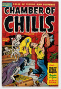 Golden Age (1938-1955):Horror, Chamber of Chills #7 (Harvey, 1952) Condition: FN-....