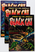 Golden Age (1938-1955):Horror, Black Cat Mystery #47, 49, and 51 Group (Harvey, 1955-56)....(Total: 3 Comic Books)