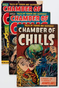 Golden Age (1938-1955):Horror, Chamber of Chills #22-24 Group (Harvey, 1954) Condition: AverageVG-.... (Total: 3 Comic Books)