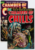 Golden Age (1938-1955):Horror, Chamber of Chills #20 and 21 Group (Harvey, 1954) Condition:Average VG/FN.... (Total: 2 Comic Books)