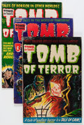 Golden Age (1938-1955):Horror, Tomb of Terror #12-14 and 16 Group (Harvey, 1954) Condition:Average GD/VG.... (Total: 4 Comic Books)