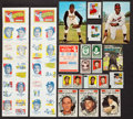 Baseball Cards:Lots, 1957 - 1971 Multi-Brand Baseball Card/Stamps Collection (240). ...