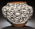 American Indian Art:Pottery, AN ACOMA POLYCHROME JAR. c. 1920. ...