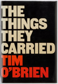 Books:Fiction, Tim O'Brien. INSCRIBED. The Things They Carried. HoughtonMifflin, 1990. First edition. Inscribed by the author on...