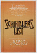 Books:Fiction, Thomas Keneally. INSCRIBED. Schindler's List. Simon andSchuster, 1982. First edition. Inscribed by the author on ...
