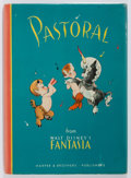 Books:Children's Books, [Disney]. Pastoral from Fantasia.. Harper andBrothers, 1940. First edition. Publisher's cloth and dust jack...