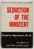 Books:Non-fiction, Fredric Wertham, M.D. Seduction of the Innocent. Rinehart,1954. First edition. Publisher's cloth and dust j...