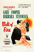 "Movie Posters:Comedy, Ball of Fire (RKO, 1941). One Sheet (27"" X 41"").. ..."