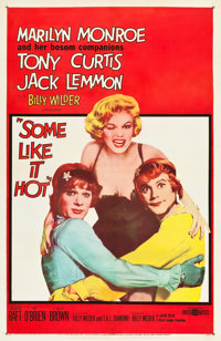 """Some Like It Hot (United Artists, 1959). One Sheet (27"""" X 41"""")"""