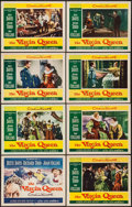 """Movie Posters:Drama, The Virgin Queen (20th Century Fox, 1955). Lobby Card Set of 8 (11"""" X 14""""). Drama.. ... (Total: 8 Items)"""