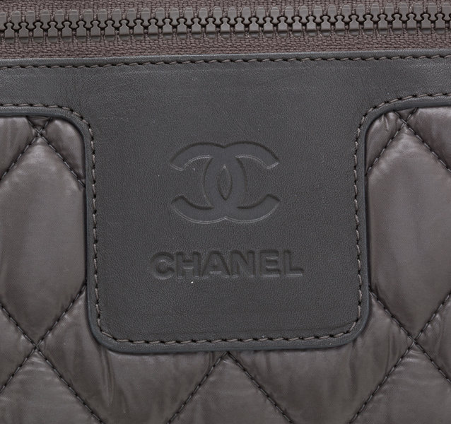 de83baa3f Chanel Limited Edition Gray Quilted Nylon Coco Cocoon Bowler | Lot #76021 |  Heritage Auctions