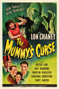 "Movie Posters:Horror, The Mummy's Curse (Universal, 1944). One Sheet (27"" X 41"").. ..."
