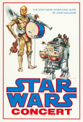 "Movie Posters:Science Fiction, Star Wars (20th Century Fox, 1978). Signed Concert Poster (24"" X37"").. ..."