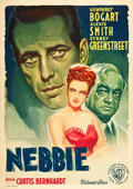 "Movie Posters:Film Noir, Conflict (Warner Brothers, 1945). Italian Foglio (27.5"" X 39"")....."
