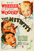 "Movie Posters:Comedy, The Nitwits (RKO, 1935). One Sheet (27"" X 41"").. ..."