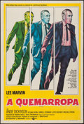 """Movie Posters:Crime, Point Blank (MGM, 1967). Argentinean Poster (29"""" X 43""""). Crime....."""