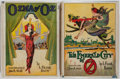 Books:Children's Books, L. Frank Baum. Pair of Reprint Oz Titles. Chicago: Reilly &Lee, [1936 - 1946].. . ... (Total: 2 Items)