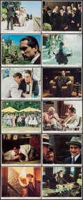 "Movie Posters:Crime, The Godfather Part II (Paramount, 1974). Mini Lobby Card Set of 12(11"" X 14""). Crime.. ... (Total: 12 Items)"