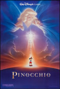"Movie Posters:Animation, Pinocchio (Buena Vista, R-1992). One Sheet (27"" X 40"") DS Style B.Animation.. ..."