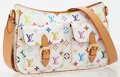 Luxury Accessories:Bags, Louis Vuitton White Multicolor Monogram Shoulder Bag. ...
