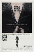 "Movie Posters:Exploitation, The Girl on a Motorcycle (Warner Brothers, R-1970). One Sheet (27""X 41""). Exploitation. Re-release Title: Naked Under Lea..."