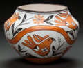 American Indian Art:Pottery, AN ACOMA POLYCHROME JAR. Lucy M. Lewis. c. 1970...