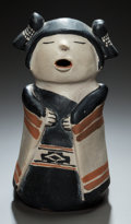 American Indian Art:Pottery, A COCHITI POLYCHROME STORYTELLER. Helen Cordero. c. 1975...