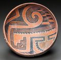 American Indian Art:Pottery, A FOUR MILE POLYCHROME BOWL. c. 1300 - 1400 ...