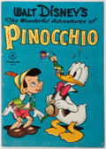 Books:Children's Books, [Walt Disney]. [Chase Craig and Walt Kelly]. The WonderfulAdventures of Pinocchio. No. 92. Dell, 1946. Publishe...