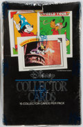 Miscellaneous:Trading Cards, [Walt Disney]. Sealed Box of Disney Collector Cards. Impel, 1991.Some wear to the box, else fine....
