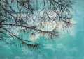 Fine Art - Work on Paper:Print, ELIZABETH MAGILL (Irish, b. 1959). Overhang (from the Parlous Land series), 2006. Lithograph in colors. 23 x 32-3/4 ...