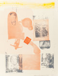 Prints:Contemporary, ROBERT RAUSCHENBERG (American, 1925-2008). Romances(Elysian), 1977. Lithograph in colors. 39 x 30 inches (99.1 x76.2 c...