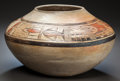 American Indian Art:Pottery, A HOPI POLYCHROME SEED JAR. c. 1900...