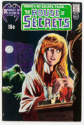 Bronze Age (1970-1979):Horror, House of Secrets #92 (DC, 1971) Condition: FN/VF....