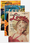 Golden Age (1938-1955):Romance, Complete Love Magazine Group (Ace, 1951-56) Condition: Average FN/VF.... (Total: 12 Comic Books)