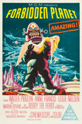 "Movie Posters:Science Fiction, Forbidden Planet (MGM, 1956). Australian One Sheet (27"" X 40"")....."