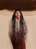 American Indian Art, FRANK HOWELL, AMERICAN (1937 - 1997). Untitled...