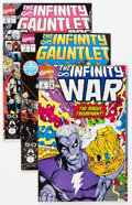 Modern Age (1980-Present):Superhero, Marvel Infinity Titles Short Boxes Group (Marvel, 1991-93)Condition: Average NM.... (Total: 2 Box Lots)