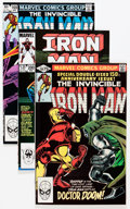 Modern Age (1980-Present):Superhero, Iron Man #150-331 Near-Complete Run Box Lot (Marvel, 1981-96)Condition: Average NM....