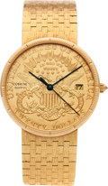 Timepieces:Wristwatch, No Shipping into the U.S. - Corum Gold $20 Coin Wristwatch. ...