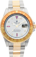 Timepieces:Wristwatch, No Shipping into the U.S. - Rolex Ref. 16713 Two Tone GMT Master II, circa 2003. ...