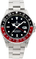 Timepieces:Wristwatch, No Shipping into the U.S. - Rolex Ref. 16070 Steel GMT Master II,circa 1990. ...