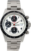 "Timepieces:Wristwatch, No Shipping into the U.S. - Tudor Ref. 79260 ""Tiger"" Oyster PrinceDate Automatic Chronograph, circa 2005. ..."