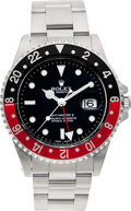 Timepieces:Wristwatch, No Shipping into the U.S. - Rolex Ref. 16700 Steel GMT Master II, circa 1999. ...