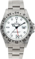 Timepieces:Wristwatch, No Shipping into the U.S. - Rolex Ref. 16570 Steel Explorer II,circa 2000. ...