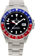 Timepieces:Wristwatch, No Shipping into the U.S. - Rolex Ref. 116710 Steel GMT Master II,circa 1999. ...