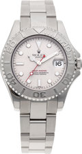 Timepieces:Wristwatch, No Shipping into the U.S. - Rolex Ref. 168622 Mid-Size Yacht-Master Wristwatch, circa 1999. ...